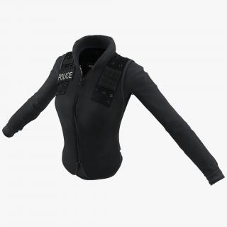 3D model SWAT Woman Uniform 7