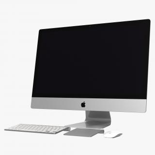 3D iMac 27 inch Collection model