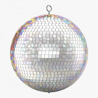 3D Disco Ball Rainbow model