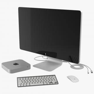 Mac Mini 3D Models Collection 3D model