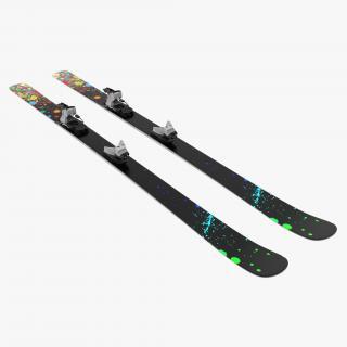 3D model Snow Ski 8