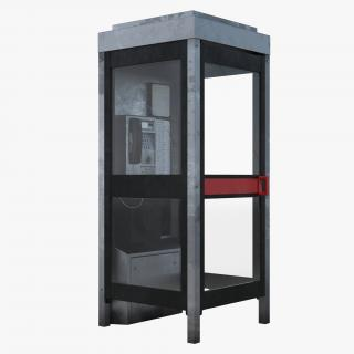 3D model Telephone Box 2