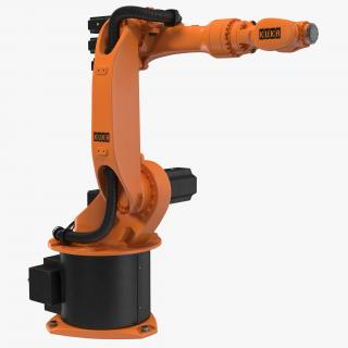 3D model Kuka Robot KR 16-3 Rigged