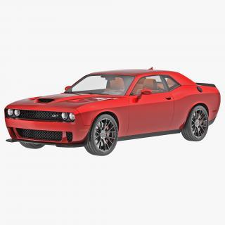 Dodge Challenger Hellcat 2015 3D model
