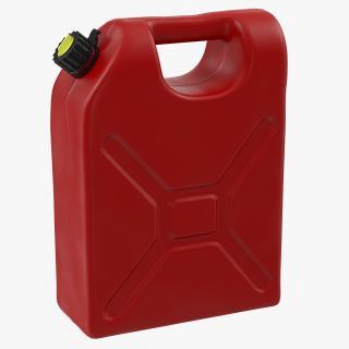 Plastic Petrol Tank 3D model