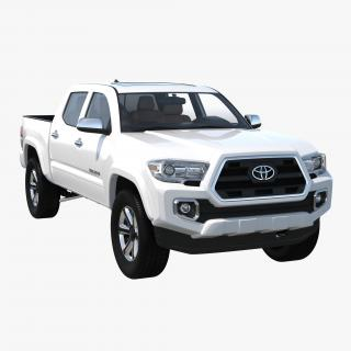 Toyota Tacoma 2016 Simple Interior 3D model