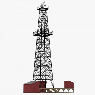 3D model Oil Production Equipment Collection