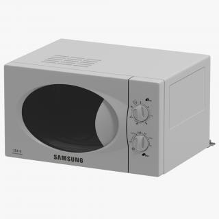 Microwave Oven Samsung 3D