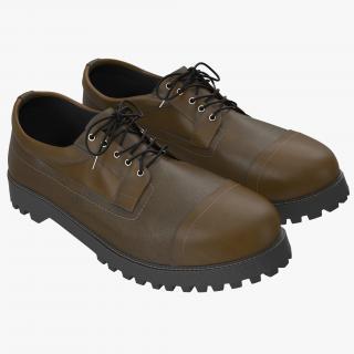 Men Boots 3D model