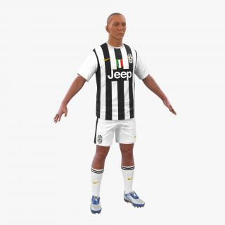Soccer Player Juventus 3D
