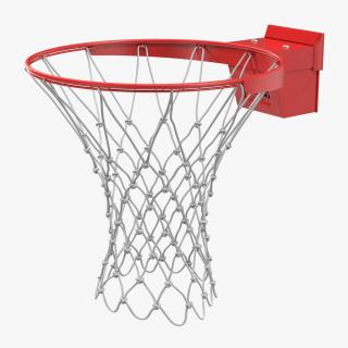 3D Basketball Rim Spalding model
