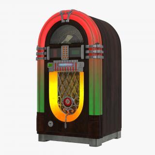Jukebox 3D model