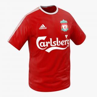 T-Shirt Liverpool 3D