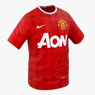 3D model T-Shirt Manchester United