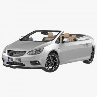 Generic Cabriolet Rigged 3D model
