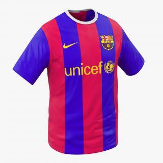 T-Shirt Barcelona 3D