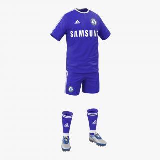 Soccer Clothes Chelsea 3D