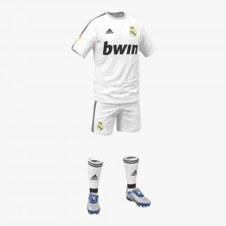 3D Soccer Clothes Real Madrid