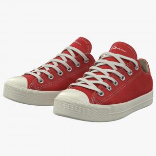 Sneakers 2 Red 3D model