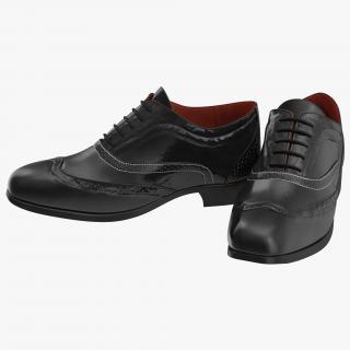 3D model Wingtip Shoes 2