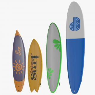 3D Surfboards Collection
