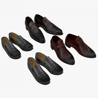 Man Shoes 3D Models Collection 2 3D