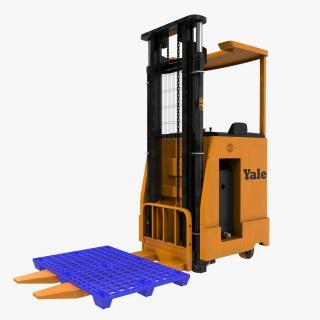 3D Rider Stacker Orange and Pallet