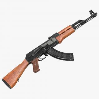 Assault Rifle AK 47 3D model