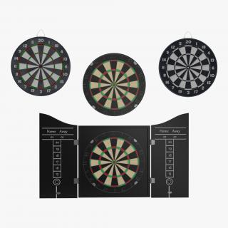 Dart Boards Collection 3D