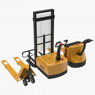 3D Pallet Jacks 3D Models Collection model