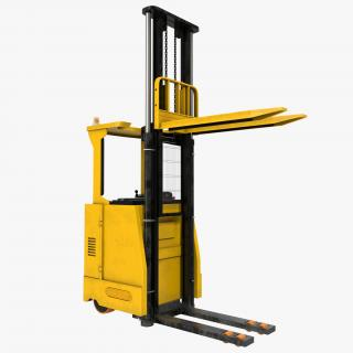 Rider Stacker Yellow Rigged 3D