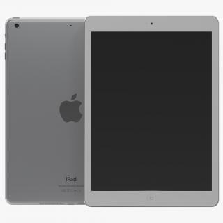 3D model iPad Air Silver