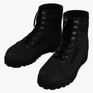 Tactical Boots 3D model