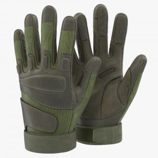 3D US Soldier Gloves Green model