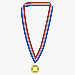3D Award Medal Gold
