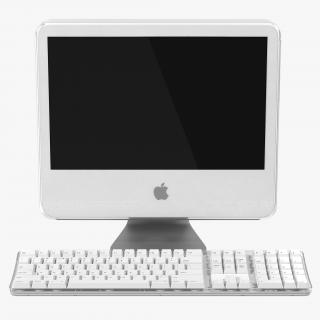 3D model Apple iMac G5 Desktop Computer