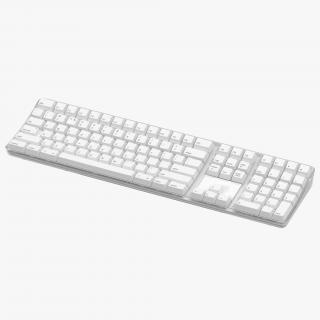 3D model Apple Wireless Keyboard 3