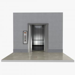 3D Lift Interior model