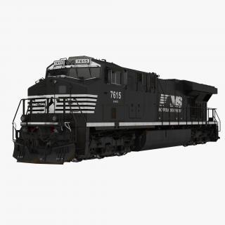 Locomotive ES40DC Norfolk Southern 3D model