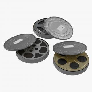 Video Film Reels 3D Models Collection 3 3D model