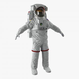 NASA Space Suit Extravehicular Mobility Unit 3D model