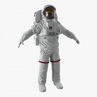 3D NASA Space Suit Extravehicular Mobility Unit 2