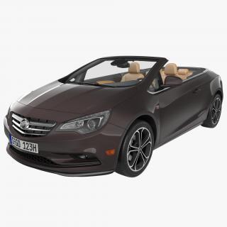 3D Buick Cascada 2016 model