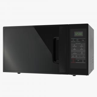 Microwave Oven 3 Generic 3D model