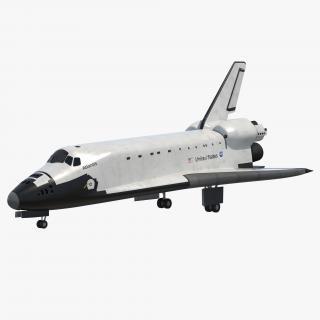 3D Space Shuttle model