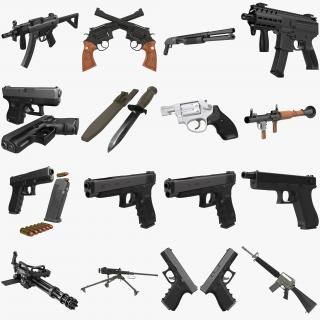 Weapons Big Collection 3D