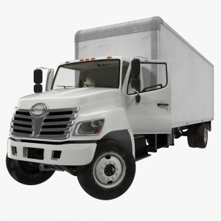 3D Box Truck Rigged