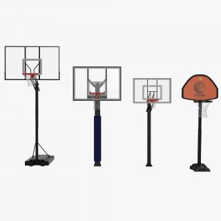 Basketball Hoops Collection 3D