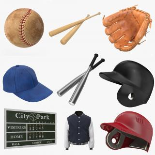 3D Baseball Collection 4