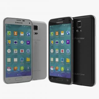 3D Samsung Galaxy S5 Mini 3D Models Set